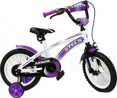 Детский велосипед Stels Arrow 14 (Purple) - общий вид