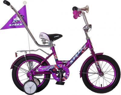 Детский велосипед Stels Dolphin 12 (Purple) - общий вид