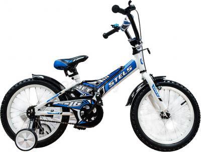 Детский велосипед Stels Jet 16 (Blue) - общий вид