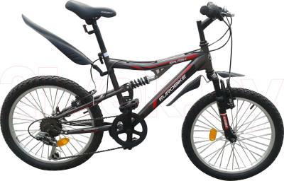 Велосипед Eurobike Splash (20, Gray) - общий вид