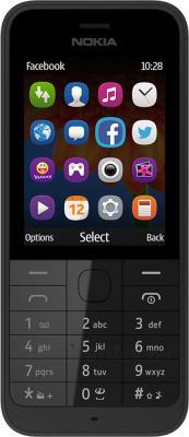 Мобильный телефон Nokia 220 Dual (черный) - общий вид