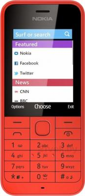Мобильный телефон Nokia 220 (красный) - общий вид
