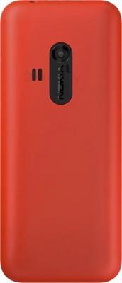Мобильный телефон Nokia 220 (красный) - задняя панель