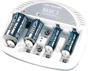 Зарядное устройство для аккумуляторов Ansmann 5207303 - общий вид
