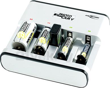 Зарядное устройство для аккумуляторов Ansmann 5207473 - общий вид