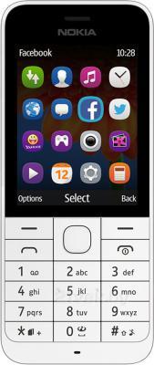 Мобильный телефон Nokia 220 (белый) - общий вид