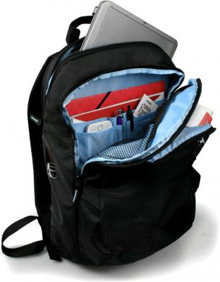 """Рюкзак для ноутбука Port Designs MERIBEL Backpack 17"""" (1000083) - открытый рюкзак"""