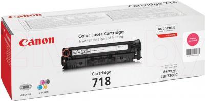 Тонер-картридж Canon 718 (2660B002AA) - упаковка