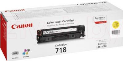 Тонер-картридж Canon 718 (265B002AA) - упаковка