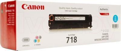 Тонер-картридж Canon 718 (2661B002AA) - упаковка