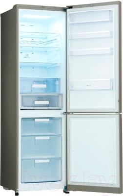 Холодильник с морозильником LG GA-B489TGRF - внутренний вид