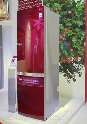 Холодильник с морозильником LG GA-B489TGRF