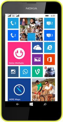 Смартфон Nokia Lumia 630 Dual (Yellow) - общий вид