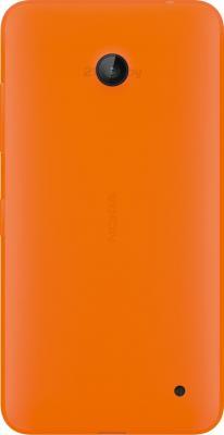 Смартфон Nokia Lumia 630 Dual (оранжевый) - задняя панель