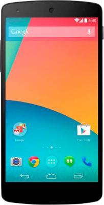 Смартфон LG Nexus 5 32Gb / D821 (черный) - общий вид