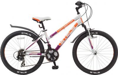 Велосипед Stels Navigator 400 (White) - общий вид
