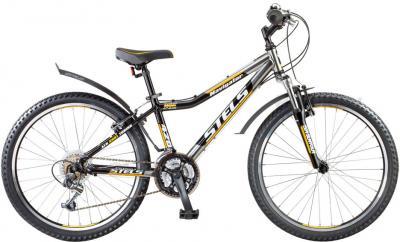 Велосипед Stels Navigator 420 (желтый/хром) - общий вид