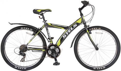 Велосипед Stels Navigator 530 (серо-зеленый) - общий вид