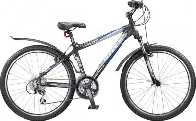 Велосипед Stels Navigator 650 (21.5, Black-Gray-Blue) - общий вид