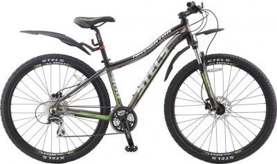 Велосипед Stels Navigator 900 Disc 18 (темно-серый/черный/серебристый) - общий вид