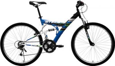 Велосипед Stels Focus 18 СК (синий) - общий вид