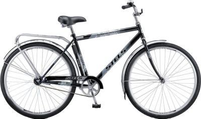 Велосипед Stels Navigator 300 Gent (черный) - общий вид
