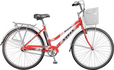 Велосипед Stels Navigator 380 Lady (красный/серебристый) - общий вид