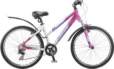 Велосипед Stels Miss 7500 (Pink-White) - общий вид