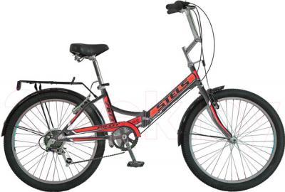 Велосипед Stels Pilot 750 (Black-Red) - общий вид