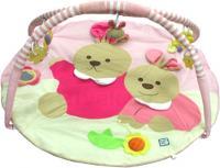 Развивающий коврик Baby Mix ТК/3163С (Зайки розовые) -