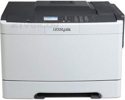 Принтер Lexmark CS410dn - общий вид
