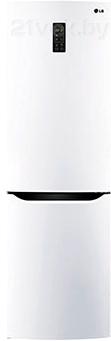 Холодильник с морозильником LG GA-B389SVQZ - общий вид