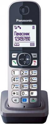 Дополнительная телефонная трубка Panasonic KX-TGA681RUM - общий вид на подставке