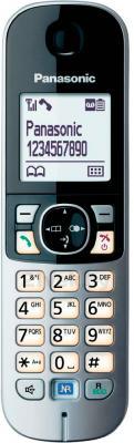 Дополнительная телефонная трубка Panasonic KX-TGA681RUB - общий вид