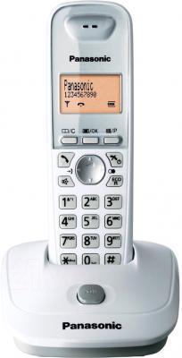 Беспроводной телефон Panasonic KX-TG2511 (белый) - общий вид