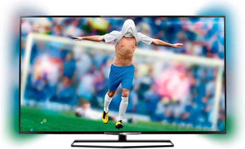 Телевизор Philips 32PFT6549/60 - общий вид с фоновой подсветкой