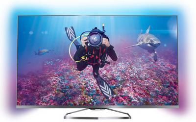 Телевизор Philips 42PFS7309/60 - общий вид с фоновой подсветкой