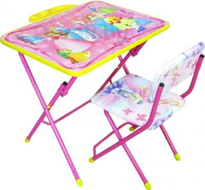Стол+стул Ника КУ2 Принцессы - общий вид
