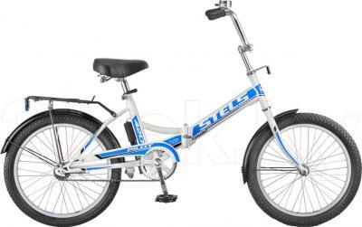 Велосипед Stels Pilot 410 (White-Blue) - общий вид