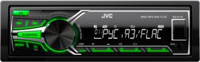 Бездисковая автомагнитола JVC KD-X110EE - общий вид