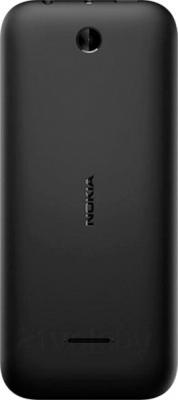 Мобильный телефон Nokia 225 Dual (черный) - задняя панель