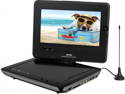 Портативный DVD-плеер BBK PL747TI (черный) - общий вид