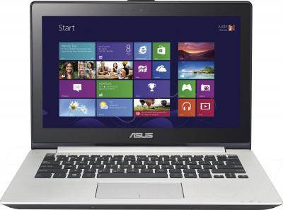 Ноутбук Asus VivoBook S301LA-C1022H - фронтальный вид