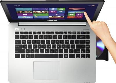 Ноутбук Asus S451LN-TOUCH-CA020H - вид сверху