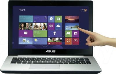 Ноутбук Asus S451LN-TOUCH-CA020H - фронтальный вид