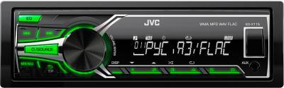 Бездисковая автомагнитола JVC KD-X115EE - общий вид