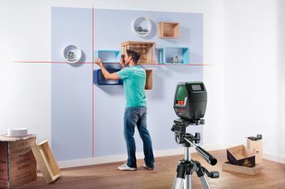 Нивелир Bosch PLL 2 Set (0.603.663.401) - в работе
