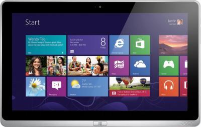 Планшет Acer Aspire P3-171-3322Y4G12as (NX.M8NER.002) - планшет, фронтальный вид