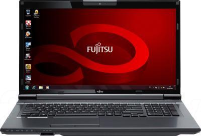 Ноутбук Fujitsu LIFEBOOK NH532 (NH532M67B2RU) - фронтальный вид