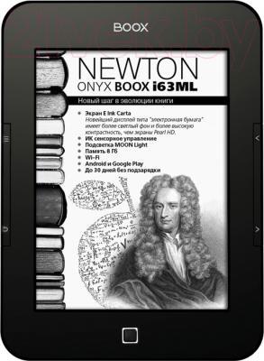 Электронная книга Onyx Boox i63ML Newton (черный) - общий вид
